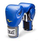 Everlast Pro Style Boxing Training Gloves Blue, 8 oz