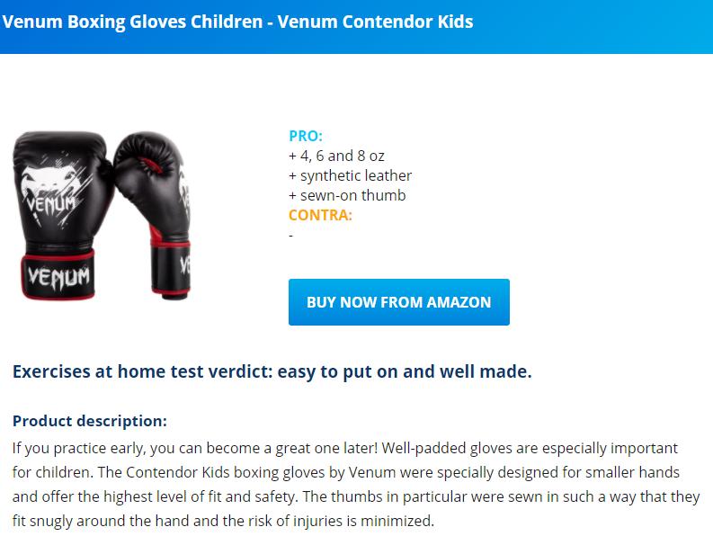 best boxing gloves 2020