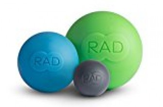 RAD Rounds I Myofascial Release Tools, Set of 3 I Multiple Densities I Self Massage Mobility and Recovery