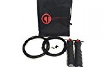 Jump Rope, Ball Bearing, Double Unders, Speed Rope, Crossfit WOD, MMA, Boxing, Weight Loss, Exercise, Bonus Carrying Bag