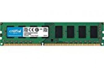 Crucial 4GB Single DDR3L 1600 MT/s (PC3L-12800)  Unbuffered UDIMM  Memory CT51264BD160B