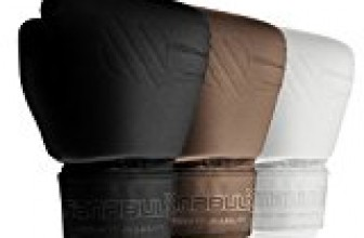 Sanabul Battle Forged Thai Style Kickboxing Professional Gloves (Black, 16 oz)