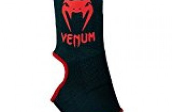 Venum Kontact Ankle Supports Kontact Ankle Support Guard – Black/Red, One Size