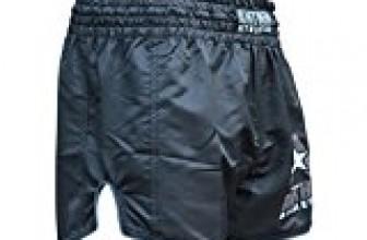 NEW! 10+ Styles – Anthem Athletics RECKONER Retro Muay Thai Shorts – Kickboxing, Thai Boxing, MMA – Black – Medium