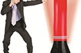 Nadalan Inflatable Boxing Column Tumbler Sandbags Fitness,Training,Fun Activity