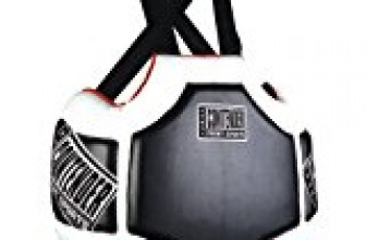 Contender Fight Sports Heavy Hitter Boxing Muay Thai MMA Training Chest Shield Rib Guard Body Protector