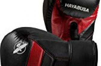 Hayabusa T3 14oz Boxing Gloves (Black/Red)