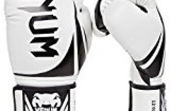 Venum Challenger 2.0 Boxing Gloves, White, 12-Ounce