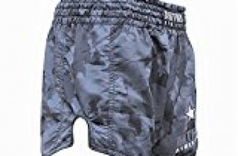 NEW! 10+ Styles – Anthem Athletics RECKONER Retro Muay Thai Shorts – Kickboxing, Thai Boxing, MMA – Night Camo – X-Large