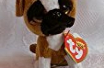 Ty Beanie Boo 3″ Key Clip Brutus the Boxer Dog by Beanie Boos