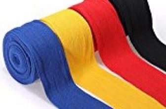 2PCS 2.5M Cotton Boxing Handwraps Bandages Punching Hand Wraps (Random) by DOM