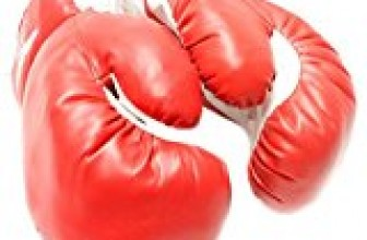 1 Pair of New Boxing / Punching Gloves and Fitness Training : Red – 16oz