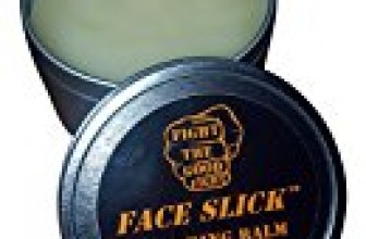 FACE SLICK SPARRING BALM CITRUS 6 OZ. 100% Organic Balm By FIGHT THE GOOD FIGHT. #1 Sparring Balm, Trusted By Professional Boxers. FACE SLICK Pure All Natural Organic Salve And Organic Skin Protectant