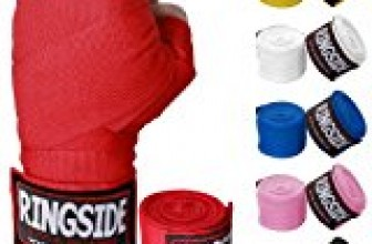 Ringside Mexican-Style 180″ Handwraps for Boxing Kickboxing MMA Muay Thai (Pair)