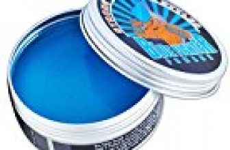 Blue Fighter Pomade Strong Hold Water Soluble Muay Thai Pomade 1.8oz