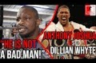 Boxing News: Dillian Whyte GOES in on Anthony Joshua for Calling him an Idiot.